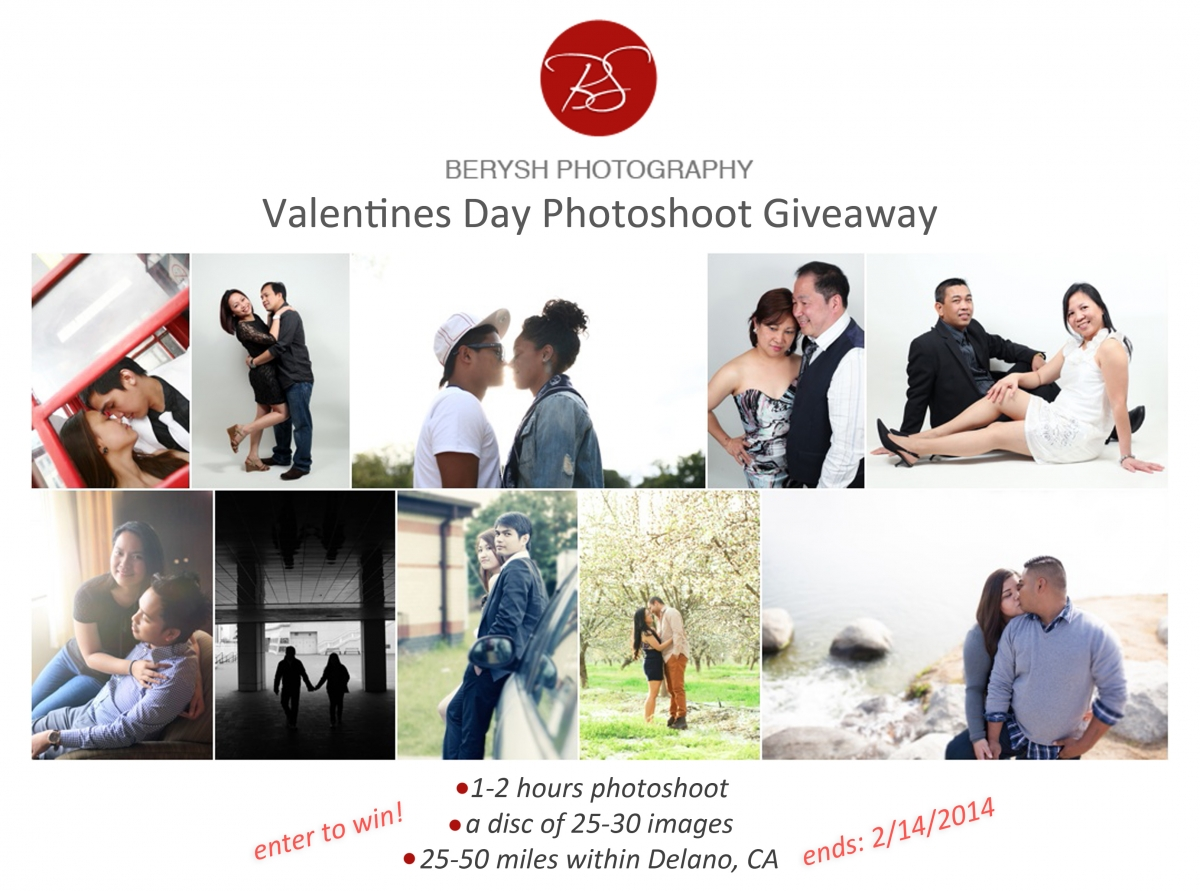 Valentines Day Photoshoot Giveaway Berysh Photography